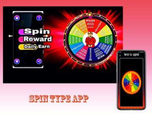 Spin Type App